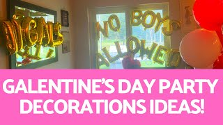 If you're planning on throwing a galentine's day party, you need to add some of these great balloons and tips! fun tips step-by-step assembly instr...