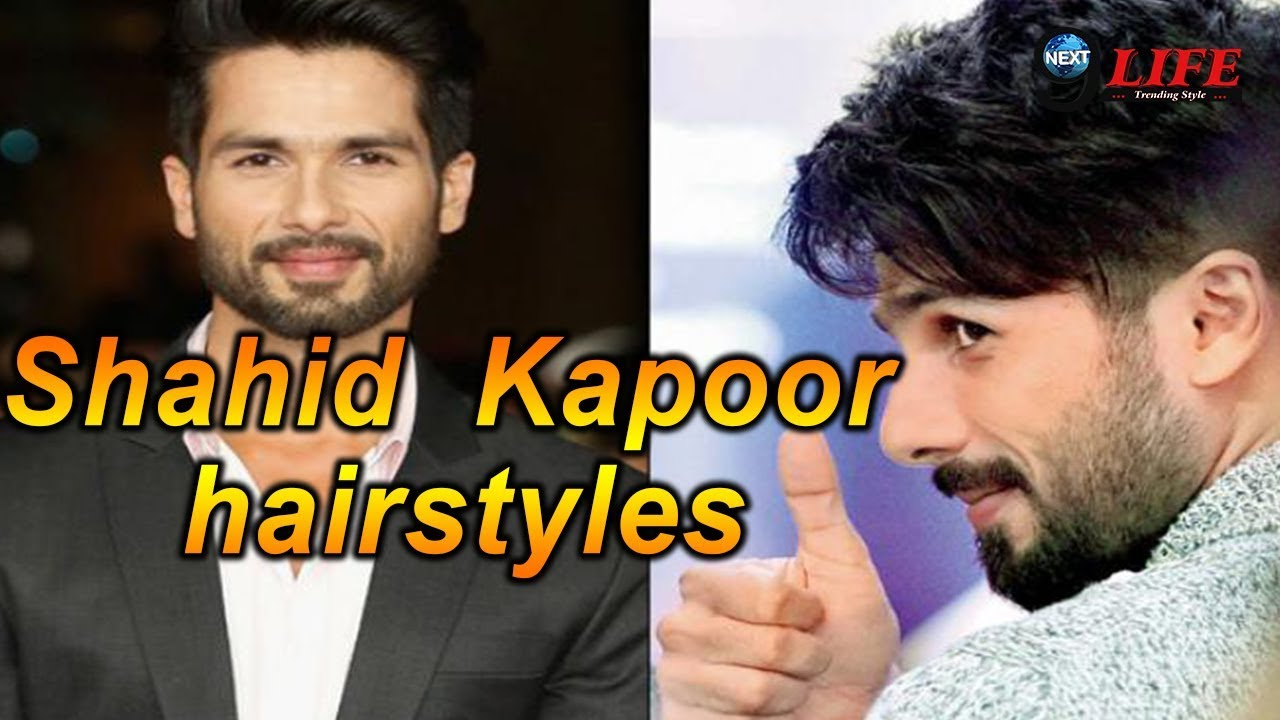Shahid Kapoor Hit Hairstyles Ever Find Your Style Youtube