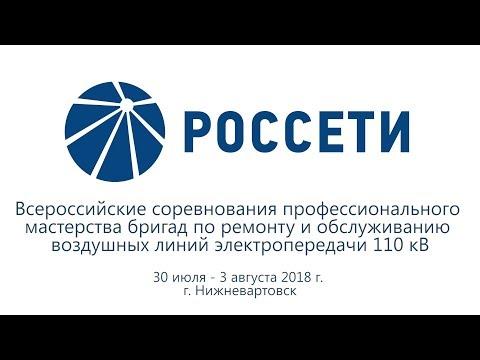 Открытие и первый день всероссийских соревнований профмастерства #Россети, город Нижневартовск.