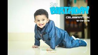 1st Birthday Reyan Rahul Kannur