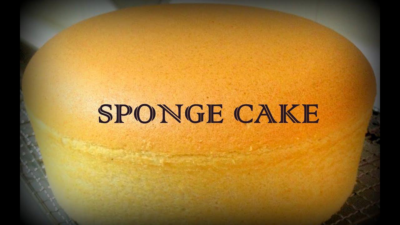 Basic Eggless Sponge Cake Easycookingwithekta Youtube