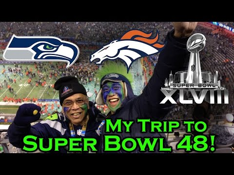 What's it like to go to a Super Bowl? My trip to SB 48!