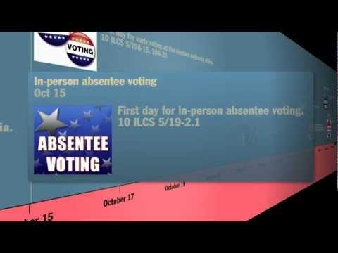 2012 General Election Timeline