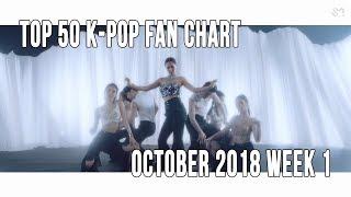 Top 50 K-Pop Songs Chart - October 2018 Week 1 Fan Chart