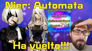 Final fantasy brave exvius:Nier:Automata / Ha vuelto por fin!!!!