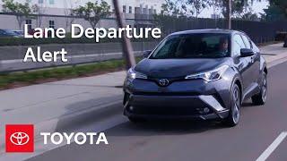 Toyota Safety Sense ™ Lane Departure Alert (LDA) Settings and Controls   Toyota thumbnail