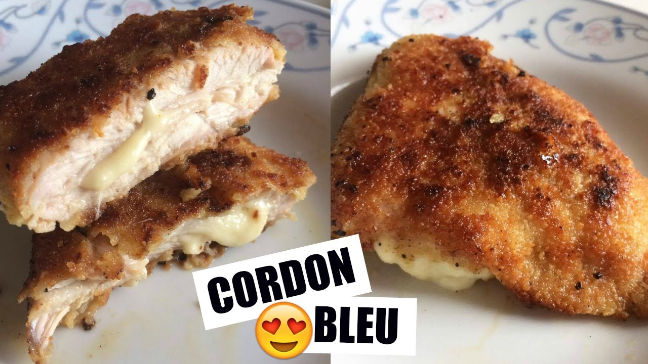 cordon bleu fait maison recette simple et rapide cookwithso youtube. Black Bedroom Furniture Sets. Home Design Ideas