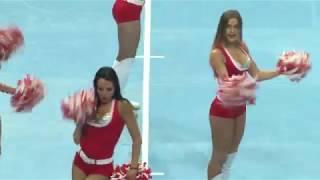 Девушки из группы поддержки Черлидинг girls Спартак Динамо