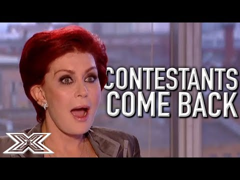 When Contestants COME BACK Part 2! | X Factor Global