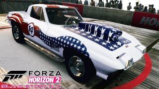 FORZA HORIZON 2 #60 | STORM ISLAND DLC | Chevrolet Corvette Stingray 427 1967