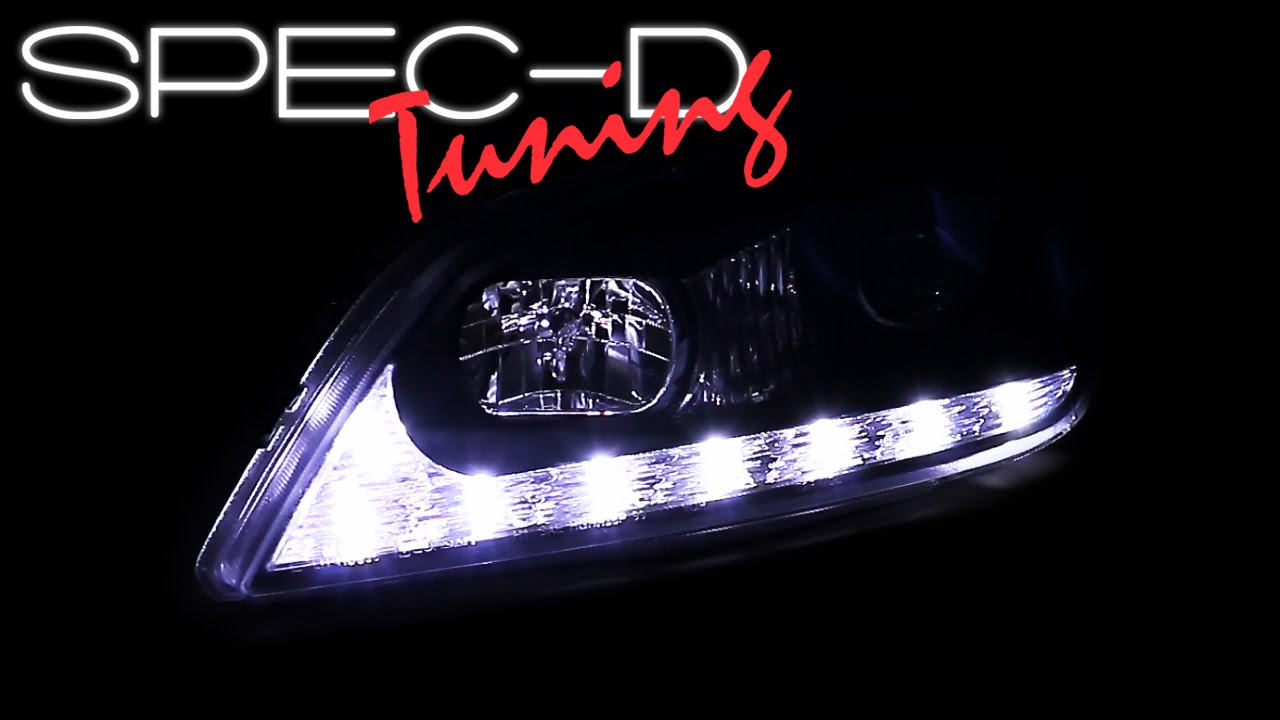 specdtuning demo video: 2001-2005 lexus is300 led projector