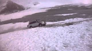 Hill climb challenge - Land Cruiser 200 series トヨタ ランドクルー...