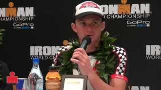 Ben Hoffman Post Race 2014 Kona