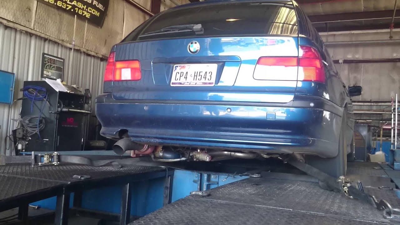 BMW 540i Wagon with rear mount turbo