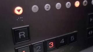 イオンモール姫路リバーシティー北ビレッジのエレベーター(三菱製)