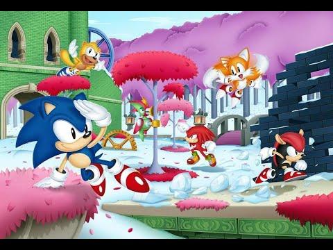 Sonic Mania Encore DLC Press Garden  