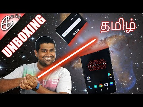 OnePlus 5T Star Wars Limited Edition Unboxing! (தமிழ் |Tamil)