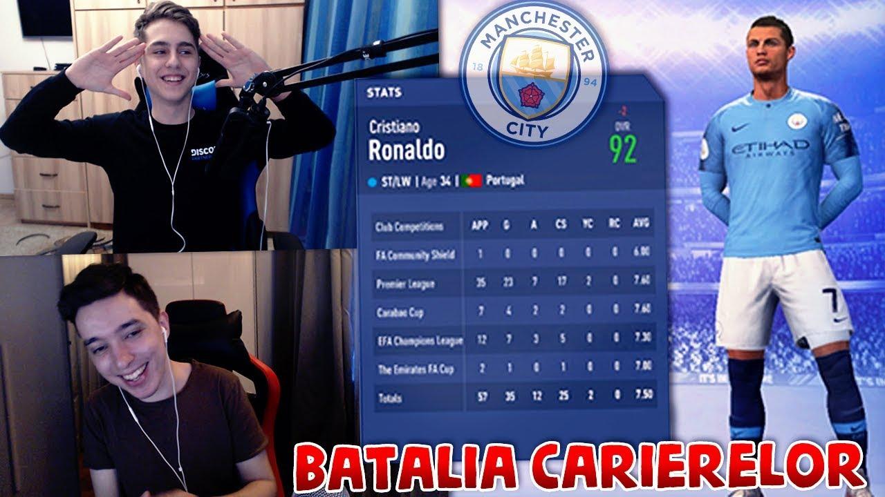 RONALDO VINE LA MAN CITY !! | BATALIA CARIERELOR cu Theo