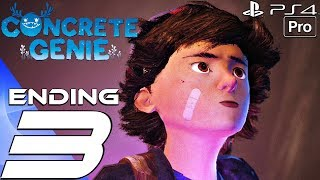 CONCRETE GENIE - Gameplay Walkthrough Part 3 - Ending & Final Boss (Full Game) PS4 PRO