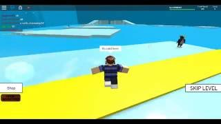 Roblox:Lets play speed run 4 with eagles029