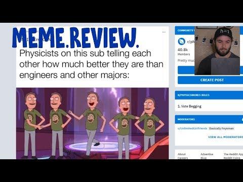Physics Meme Review | Season 1 Episode 1