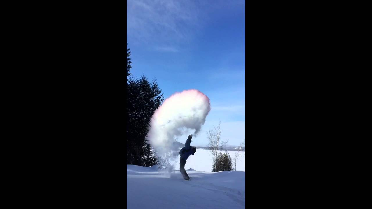 Minus 28 Degrees Celsius In Quebec Today Youtube