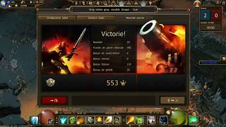 Drakensang online- Testing 1 hand in PvP -by hitmanx1