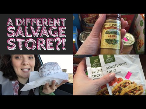 Weekly Grocery Haul With Preps|| Amish Salvage Store || Aldi