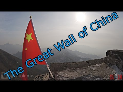 "ChinaVLOG - Episode 3 ""The Great Wall of China"" - #27DaysInChina - Beijing"