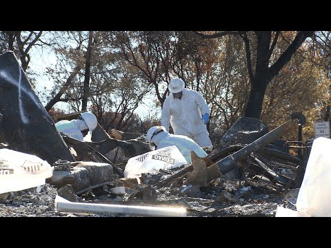 DTSC Wildfire Cleanup in Paradise California