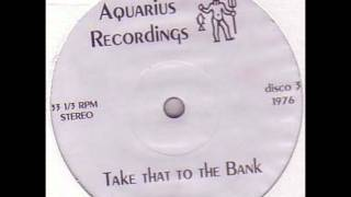 Aquarius Recordings (Paul Jacobs) - Take That To The Bank (Acidic Breaks mix)