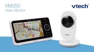 """VM350 5"""" Digital Video Baby Monitor"""