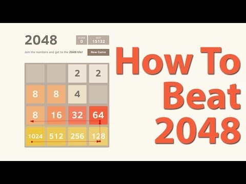 How To Beat 2048 (Best Strategy Tips For Beating 2048 Game Tile)
