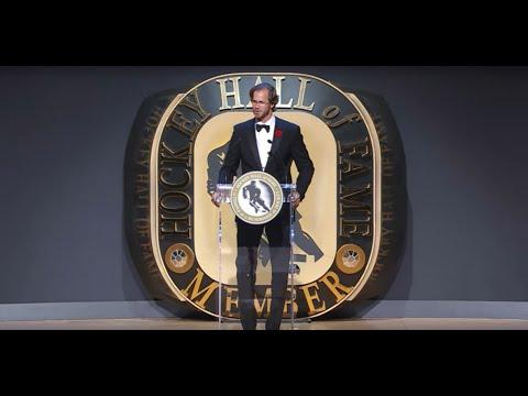 Chris Pronger Hockey Hall of Fame Induction Speech (2015)