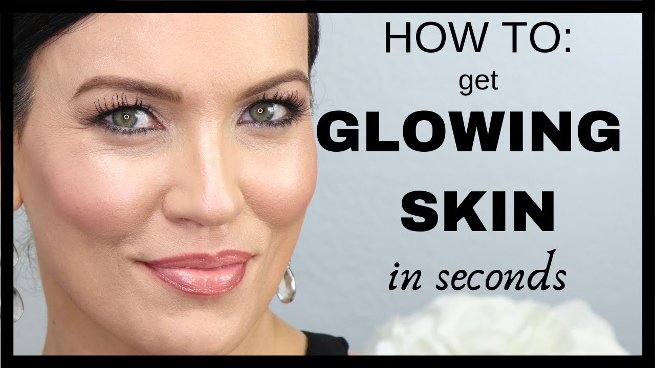 HOW TO: Get GLOWING SKIN in SECONDS!!! - Beauty Tips for MATURE, AGING &  DULL SKIN