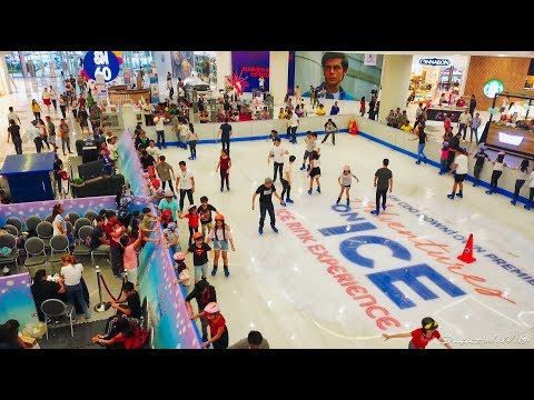First Ice Skating Rink in Northern Mindanao Aerial View 4K