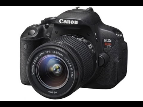 Canon Rebel Eos T5i Unboxing !