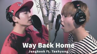 Download Imagine Jungkook & Taehyung cover 숀(SHAUN) - Way Back Home (use earphones)