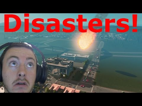 Natural Disasters DLC Cities Skylines! (Every Disaster) |