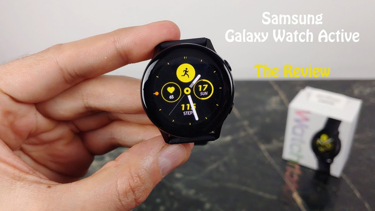 Samsung Galaxy Watch ACTIVE : Full Review