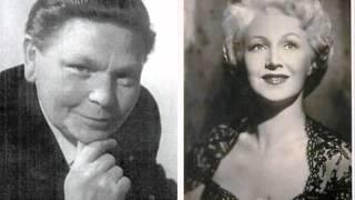 """Franz Fehringer & Sari Barabas  """"Leise schwebt das Glück""""  Die Zirkusprinzessin"""