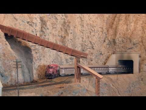 Thompson River Canyon Canadian National Railway – n gauge model railway layouts – PoathTV