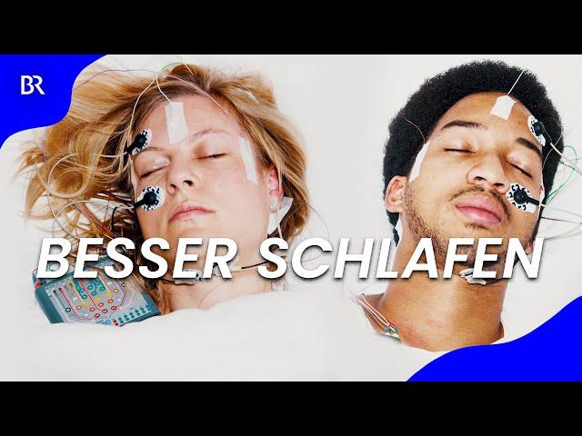 Volkskrankheit Schlafstörung: Wie wir besser schlafen | beta stories | Doku | BR