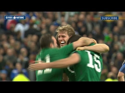 France v Ireland - Official Short Highlights Worldwide 15th March 2014