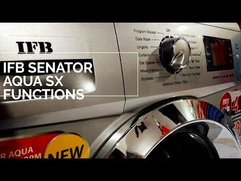 IFB Washing Machine | How to use IFB program functions fully-Automatic machine for wash clothes