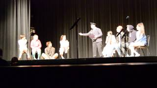 Stranger Danger ~ Sunset High School Variety Show 2015