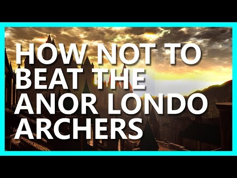 HOW NOT TO BEAT THE ARCHERS IN ANOR LONDO -- PAIGE PLAYS DARK SOULS (PEACHSALIVA RUBY WEAPON HOUR)