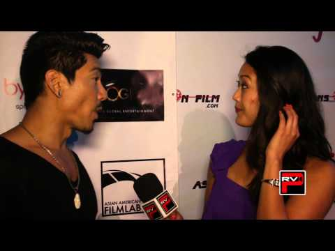 Interview with actor Jonathan Stanton at Asians on Film Mixer