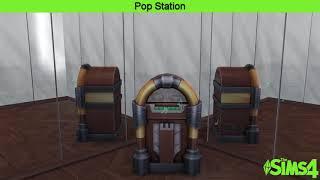 The Sims 4 Music    Pop Station    Roman Holloway - Vanity