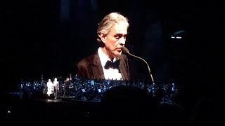 Andrea Bocelli live in Philadelphia - Time To Say Goodbye